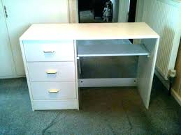 charming inch wide desk computer office slim table large two 36 white with drawers tw inch desk