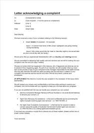 Template For A Letter Of Complaint Medical Templates For Word