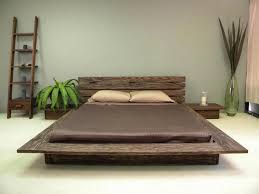 Image of: Rustic Japanese Clearance Platform Beds