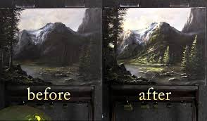 painting landscape techniques series highlights