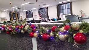 Office Christmas Decorations 2015