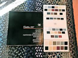 1998 Cadillac Deville Brochure With Color Chart Exellent