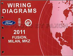 2011 Ford Fusion Mercury Milan Lincoln MKZ Wiring Diagram Manual ...