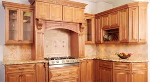 image of maple kitchen cabinets