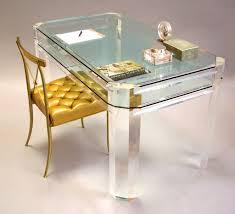 bathroomlovely lucite desk chair vintage office clear. Lucite Desks Furniture Bathroomlovely Desk Chair Vintage Office Clear Including Awesome Images Dafbf T