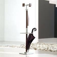 Kipling Metal Coat Rack With Umbrella Stand rack Coat And Umbrella Rack Holder Brown Wooden With Five Hooks 82