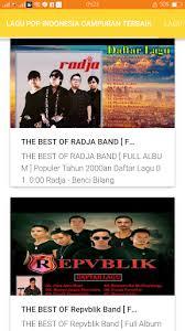 Kamu juga bisa download secara legal di itunes untuk mendukung artis agar. Kumpulan Lagu Pop Indonesia Terbaik 1 0 Apk Download Com Wlagupopindonesiacampuranterbaik 6369025 Apk Free