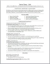 Objective On Resume For Cna Cna Objective Resume Examples Examples Of Resumes 22