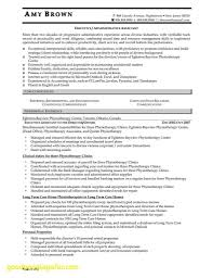 Personal Assistant Resume Inspirational Resume Example