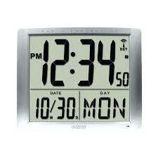 digital wall clock india cool digital clocks image of cool la technology atomic digital wall