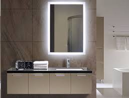 lighted wall mirror. latest lighted bathroom mirror illuminated wall mirrors for bathrooms