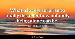 Image result for images about overcoming the fear of being alone