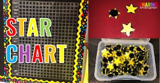 Star Student Chart How To Make And Use A Star Chart Sharing Kindergarten