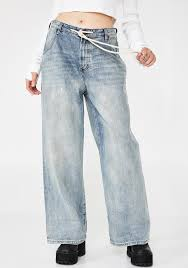 One Teaspoon Clothing Size Chart Bad Boys High Waist Wide Leg Blue Jeans