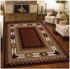 5x8 lodge area rug southwestern log cabin carpet western log cabin style rugs