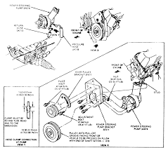 Power steering diagram ford luxury repair guides steering power steering pump