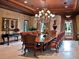 royal decorating of formal dining room