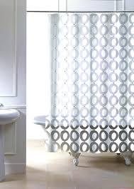 standard bathtub shower curtain size credit to