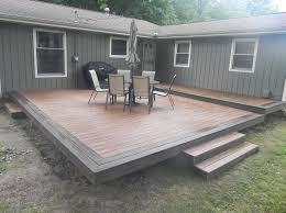 composite deck ideas. Simple Ideas Outdoor U0026 Garden Fabulous Trex Composite Decking Ideas With  Backyard Deck Inside U