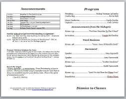 Church Program Template Microsoft Word Church Program Template Simplygest
