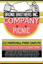 Company Picnic Template 90 Customizable Design Templates For Picnic Postermywall