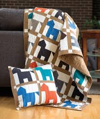 Horse Quilt Pattern Classy Hold Your Horses Kid Quilt Pattern The Quilting Company