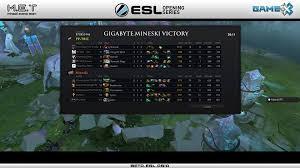 gigabyte mineski wins esl opening series ph mineski net