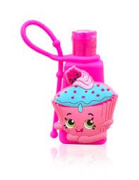 Shopkins Cupcake Chic 3d Hand Sanitizer Brush Buddies