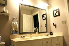 Beveled Bathroom Vanity Mirror Mirrors Custom Beveled Mirror Beveled