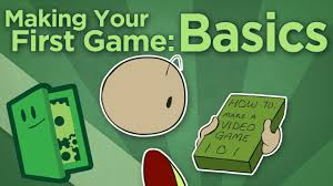 making your first game basics how to start your game development extra credits you