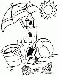 best summer coloring pages give a cool