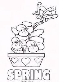 Preschool Spring Coloring Sheets 38771430e32afe66f71527fead523e94