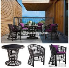 china rattan outdoor garden round dining table set with 4 chairs 4 people china outdoor furniture garden furniture