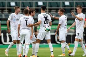 The dfb pokal or german cup is a knockout competition with 64 teams participating and you can find the latest german cup betting odds on all matches across oddsportal.com. Dfb Pokal Borussia Monchengladbach Augsburg Cologne Crush Lower League Teams
