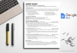 Resume Template Joseph Hunt