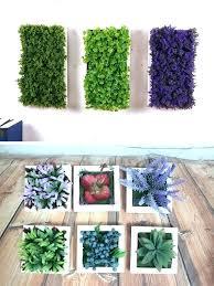 faux grass plants decorative