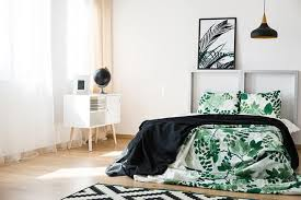 Black White Lime Green Bedroom Ideas 2