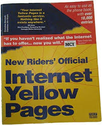 9781562053062 new riders official internet yellow pages 1995 edition