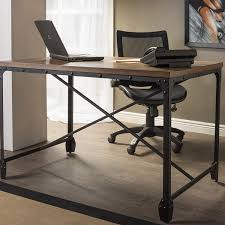 office wood desk. Carbon Loft Edelman Antique Bronze Wood/Metal Home Office Desk - Free Shipping Today Overstock 17629050 Wood R