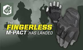 Mechanix M Pact Size Chart M Pact Fingerless Tactical Gloves Mechanix Wear