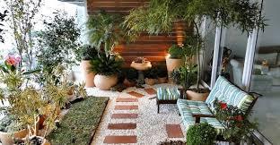 balcony gardens. Stylish Gravel Balcony Gardens O