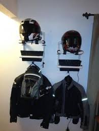 Motorcycle Coat Rack I'd love to hang this Biker Duo Clothes Rack in my garage No more 80