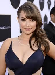 April ingenious busty brunette woman