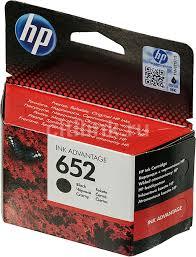 Купить <b>Картридж HP 652</b>, черный в интернет-магазине ...