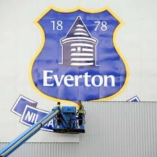 In those days it comprised the white letters 'efc' entwined upon a blue shield. Everton Fc Reveal New Club Crest Shortlist Now Fans Can Vote For Winner Liverpool Echo