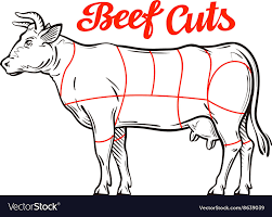 Beef Cuts Chart Beef Chart Meat Cuts Or Butcher Shop