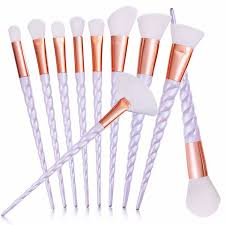 unicorn brush set. professional 10 piece unicorn brush set [pre-release] , makeup - my