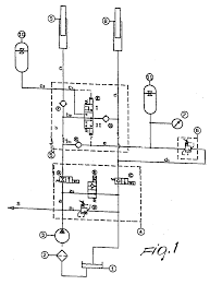 Hydraulic circuit for lifting and floating a tool supported by a
