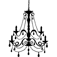 chandelier wall art gold