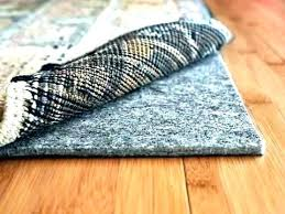 carpet pad rug on nonslip rugs to best pads for area hardwood floors contour mohawk felt